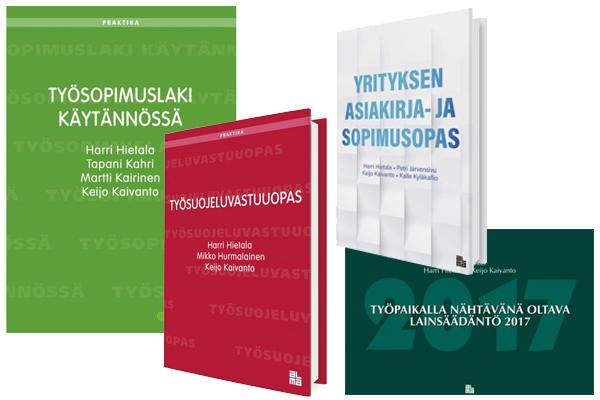 Ajankohtaista kiinteistöjuridiikassa -julkaisut